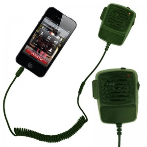Walkie Talkie Phone Handset: Green