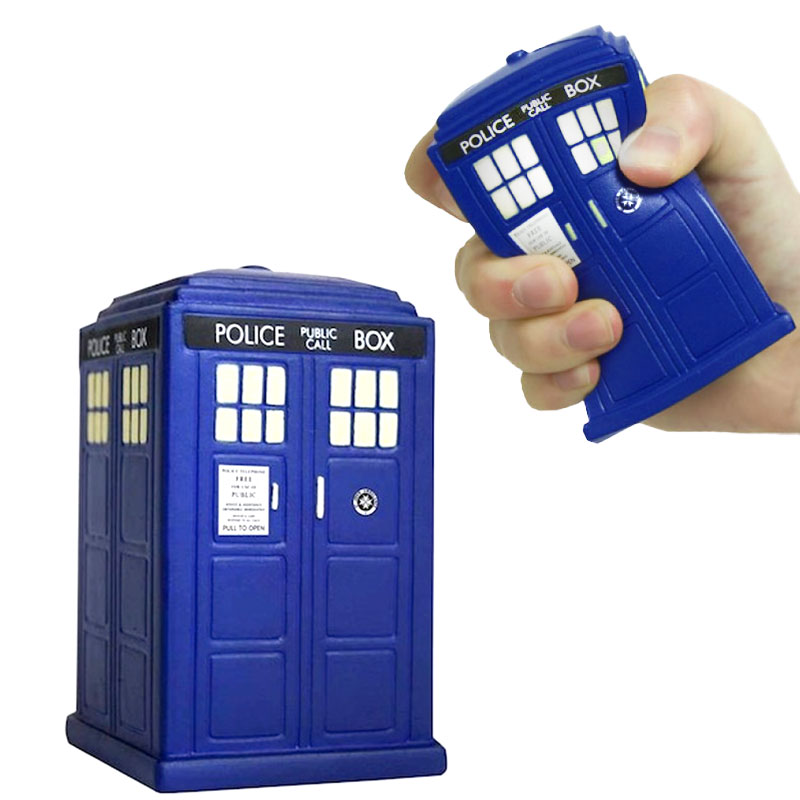 Doctor Who Tardis Stress Toy  sc 1 st  The Prank Store & Doctor Who: Tardis Stress Toy - The Prank Store