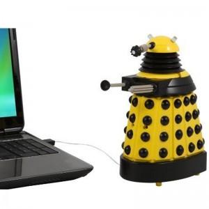 Doctor Who: Yellow Dalek USB Desk Protector