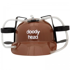 Doody Head Beer Helmet
