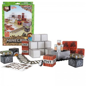 Minecraft: Paper Craft, Minecart Set