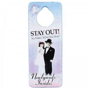 Newlywed Privacy Door Hanger