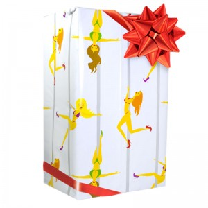 Pole Dancer Gift Wrap