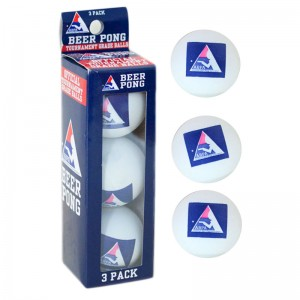 Professional Beer Pong Balls (Set of 3)