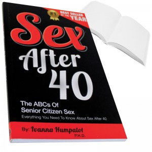 Sex After 40 Prank Book