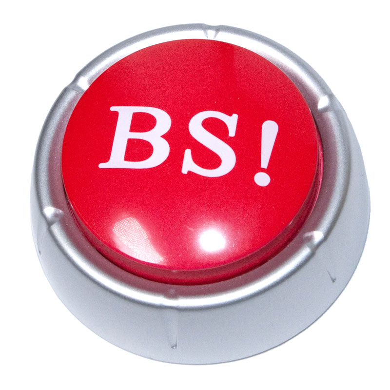 the bs button the prank store
