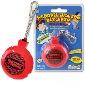 Whoopee Cushion Keychain