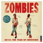 Zombies 2014 Calendar