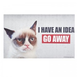 "30"" Grumpy Cat Doormat ""I Have"""