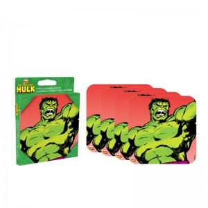 Hulk 4 piece Coaster Set
