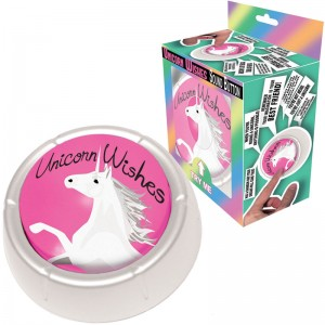 Unicorn Wishes Button