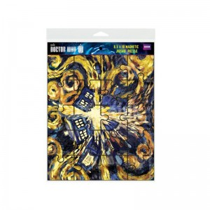 Doctor Who Magnetic Puzzle: Exploding Tardis