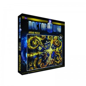 Doctor Who Puzzle: Exploding Tardis