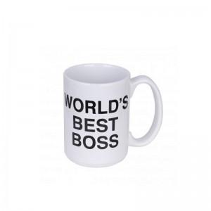 Dunder Mifflin- World's Best Boss Mug